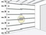 Profixi montagesysteem bevestigingsrail kunststof 200 cm_6